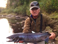 Ron Halick, Jersey City, NJ,  Cains River Salmon